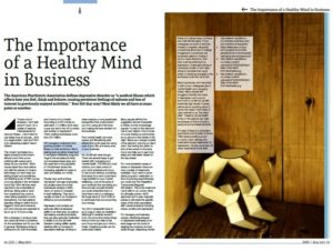importance healthy mind in business