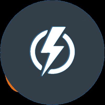 electricity blue